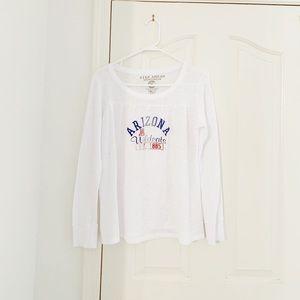 Arizona Wildcats White Long Sleeve Thermal Shirt